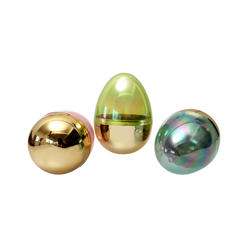 "4.4""Metallic Fillable Eggs"