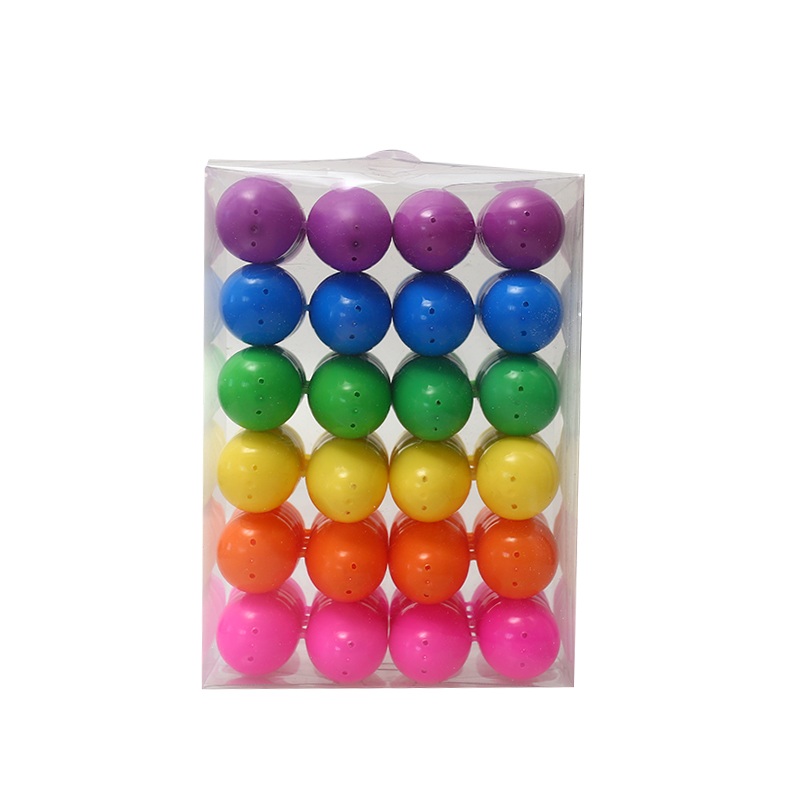 "2.5"" 48ct Piled up Easter Eggs"
