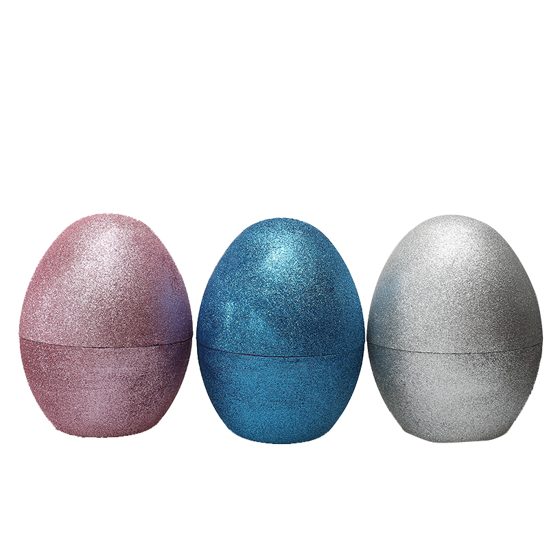 "8""Glitter Fillable Eggs-2"