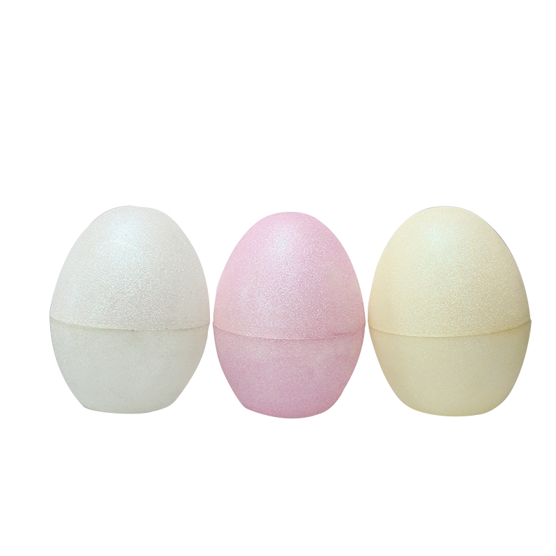 "8""Translucen Glitter Fillable Eggs-1"