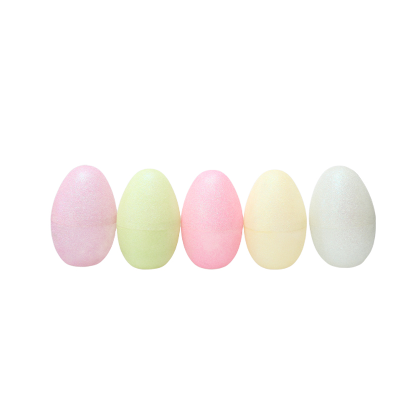 "5.5""Translucen Glitter Fillable Eggs"