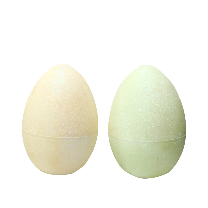 "10"" Light colors Glitter Fillable Eggs-2"