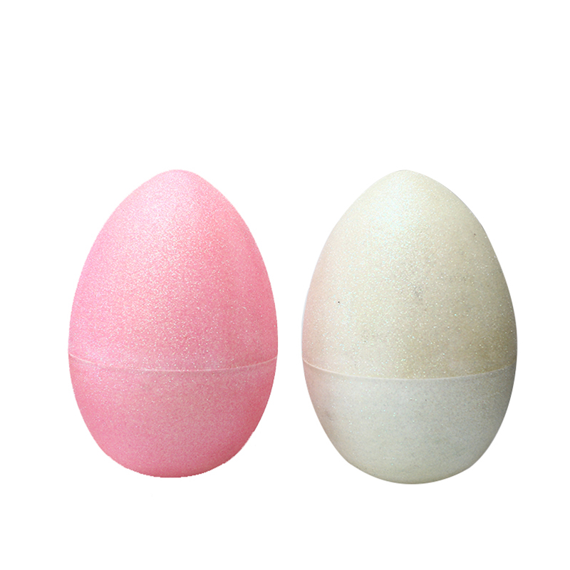 "10"" Light colors Glitter Fillable Eggs-1"