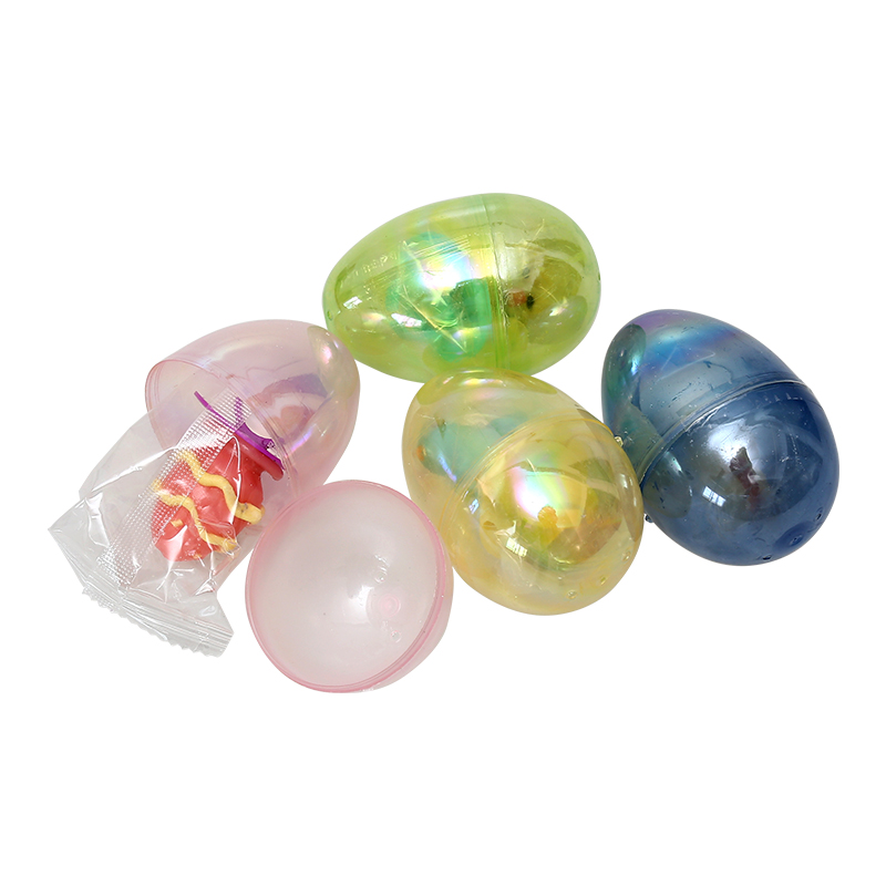 "3.5""  6ct Translucent egg plating"