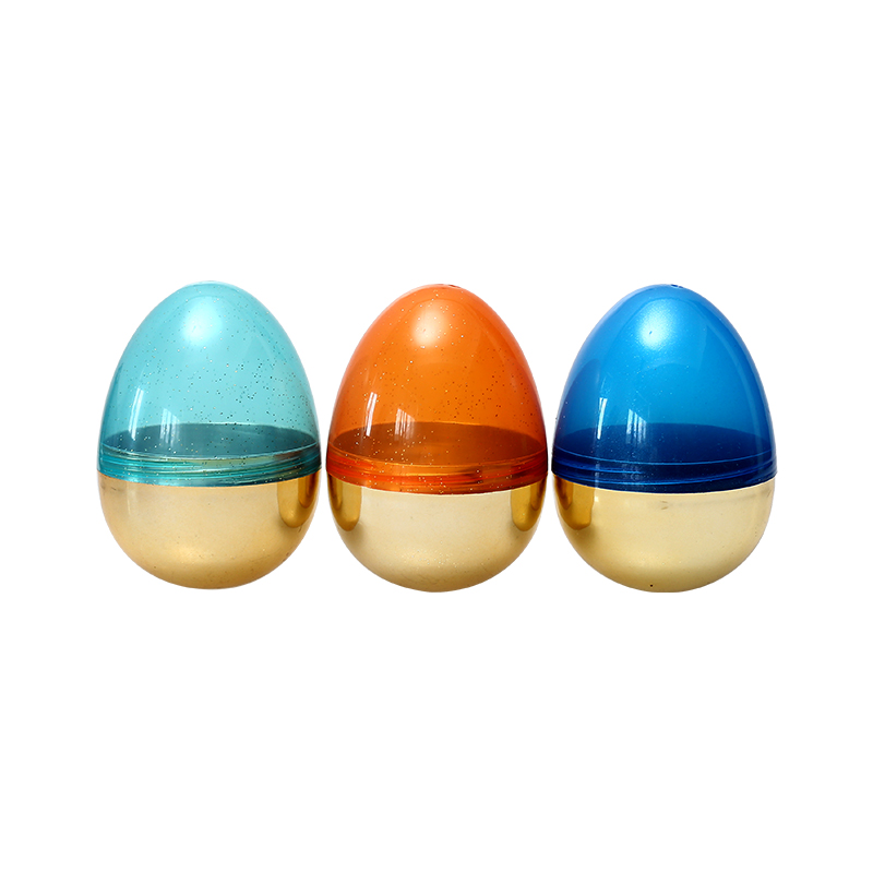 "4.4""Metallic Fillable Translucence Eggs"