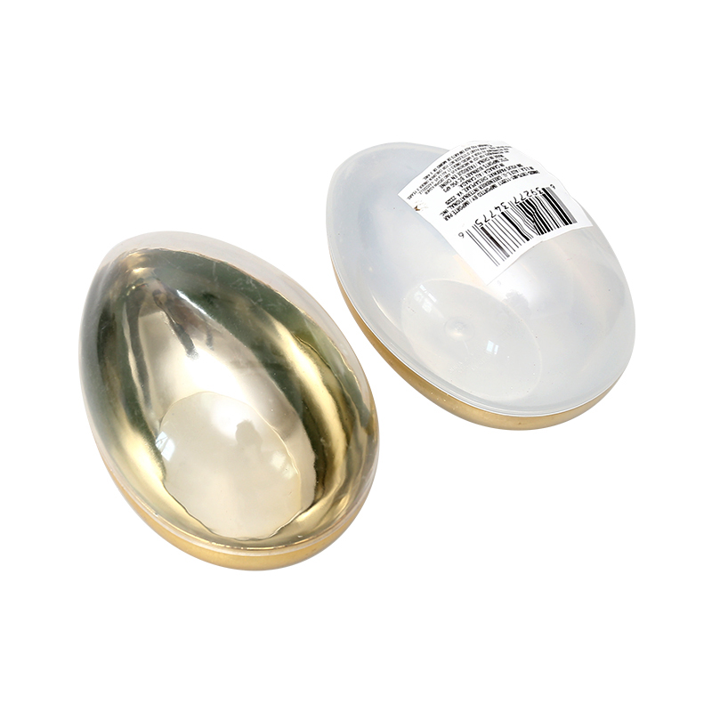 "5.5""Metallic Fillable Upright eggs"