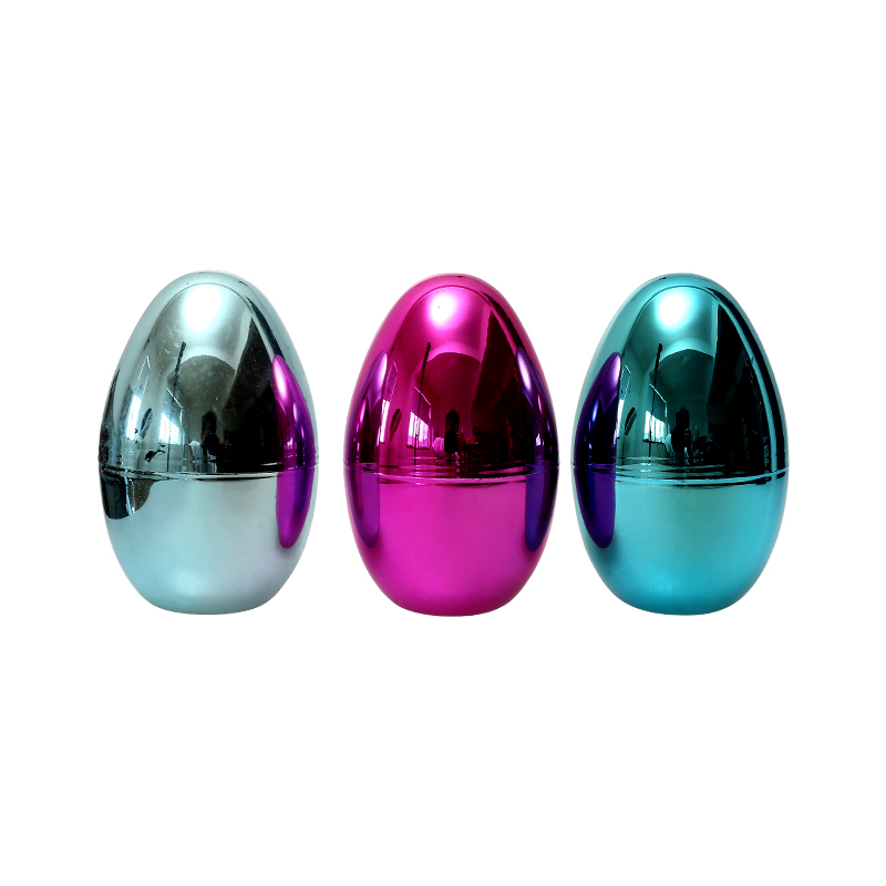 "5.5""Metallic Fillable Glossy  eggs"