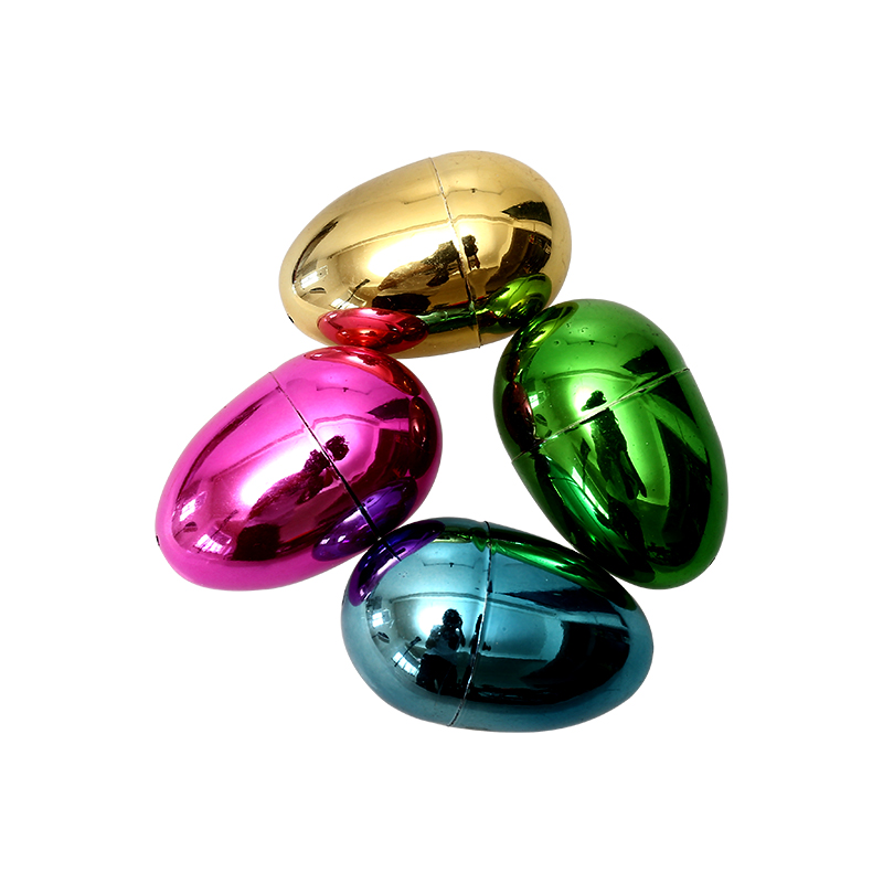 "5.5"" Metallic Fillable Upright eggs"