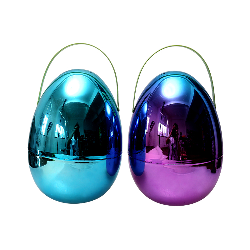 "10""Metallic Fillable Eggs"