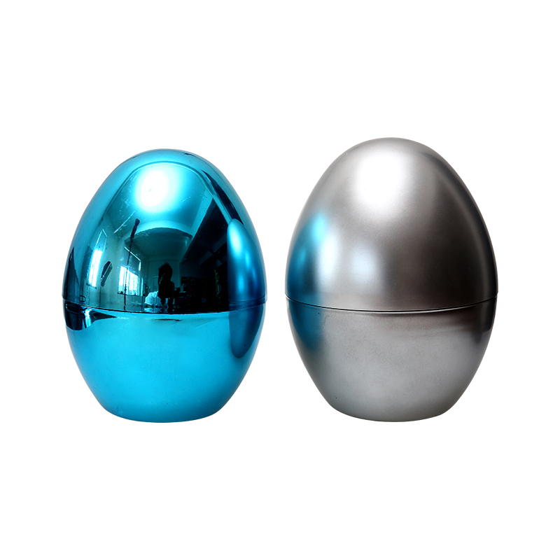 "8""Metallic Fillable Glossy  eggs"