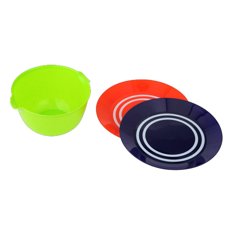 Plastic stripe disc