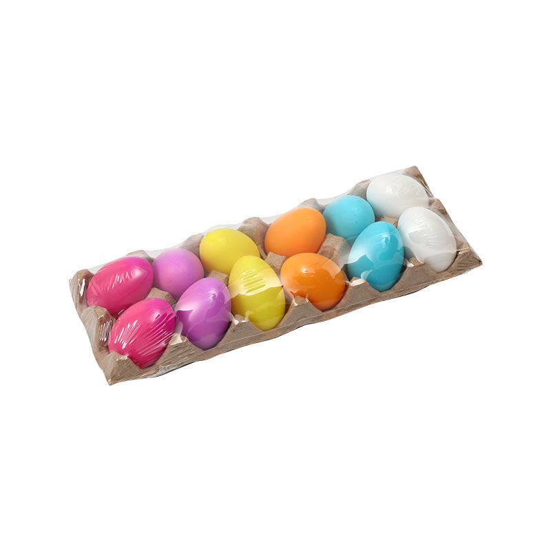 "2.5""12ct Blow molding  Easter Eggs"