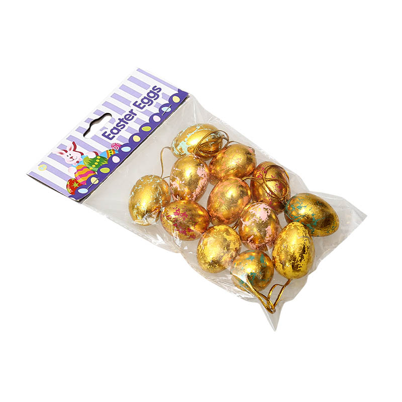 "1.8"" Gold Film Eggs"