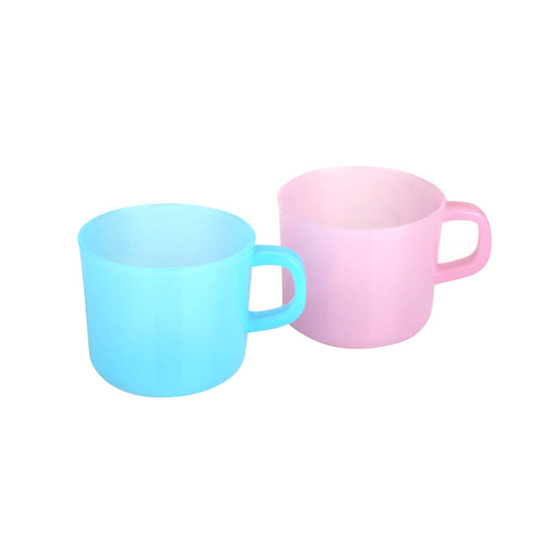 Plastic Frosted glass cup