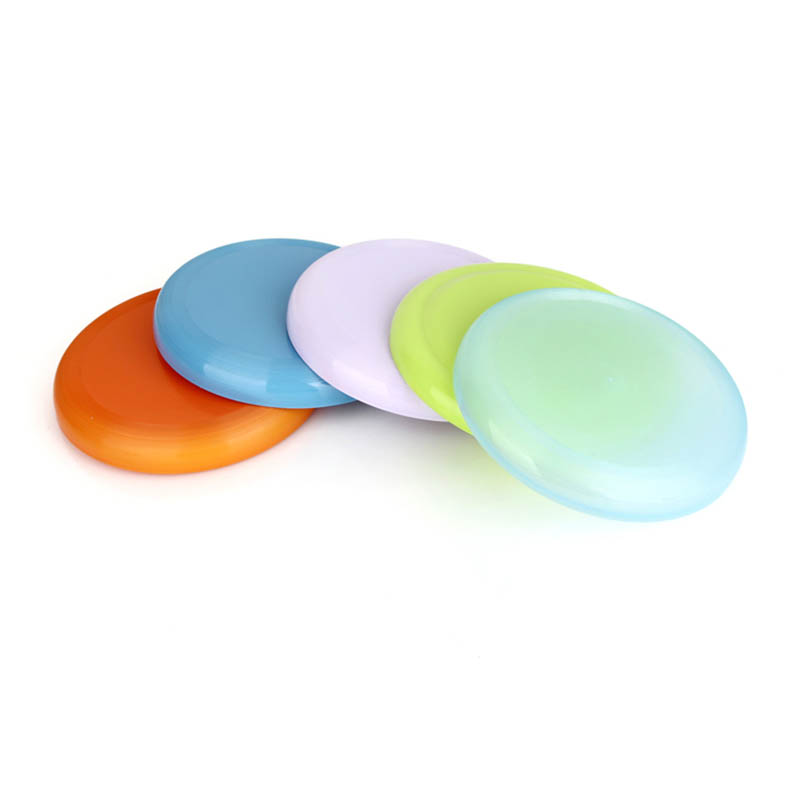 Color plastic frisbee