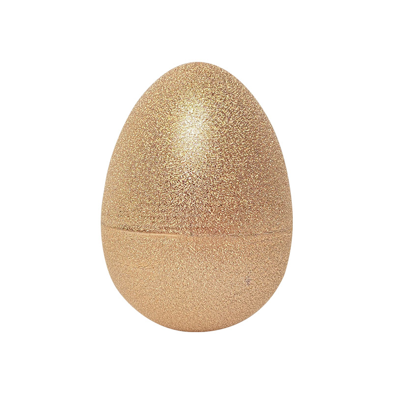 """8"""" Electroplated creased egg"""