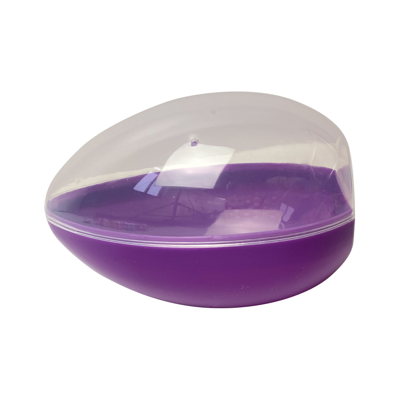 "5.5"" Open the purple egg vertically"
